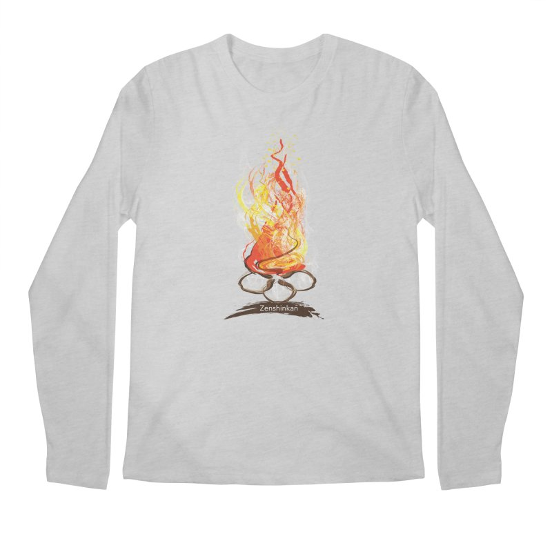 Fire Element Men's Longsleeve T-Shirt by Zenshinkan's Shop