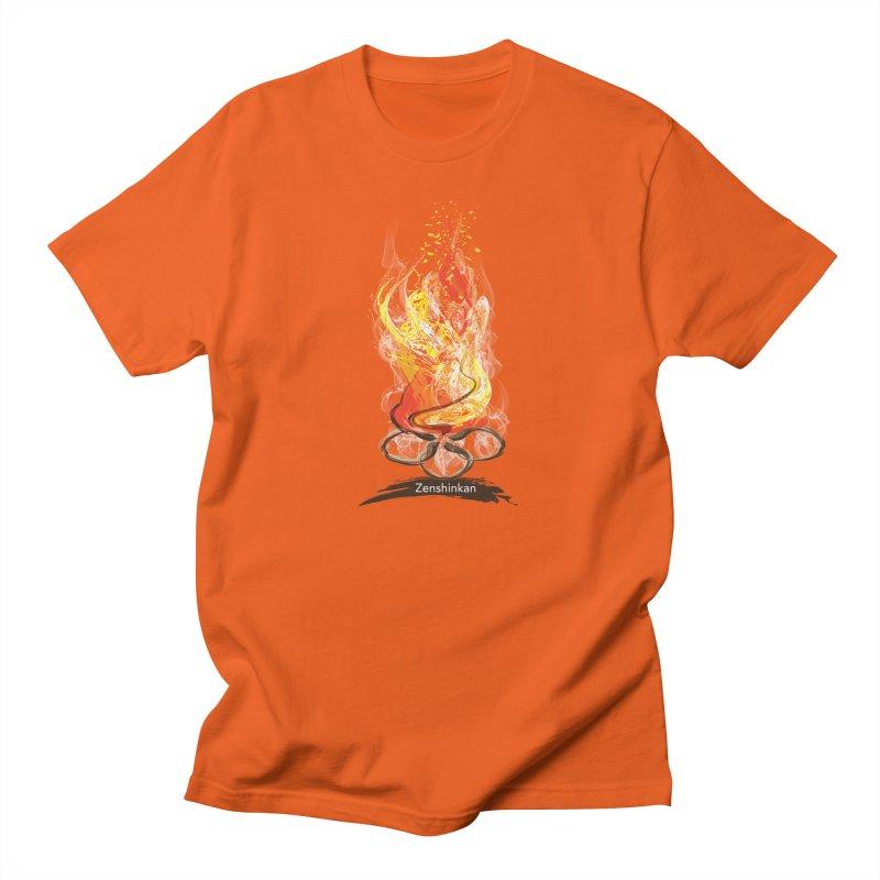 Fire Element Men's Regular T-Shirt by Zenshinkan's Shop