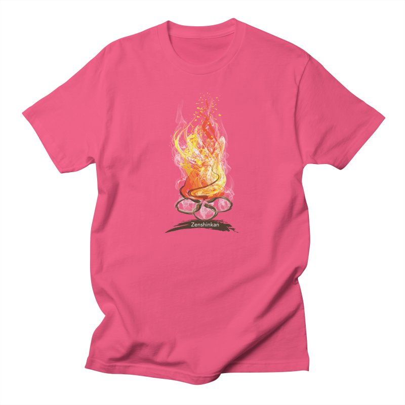 Fire Element Women's Unisex T-Shirt by Zenshinkan's Shop