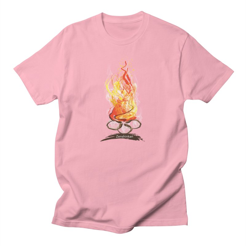 Fire Element Men's Regular T-Shirt by Zenshinkan's Shop