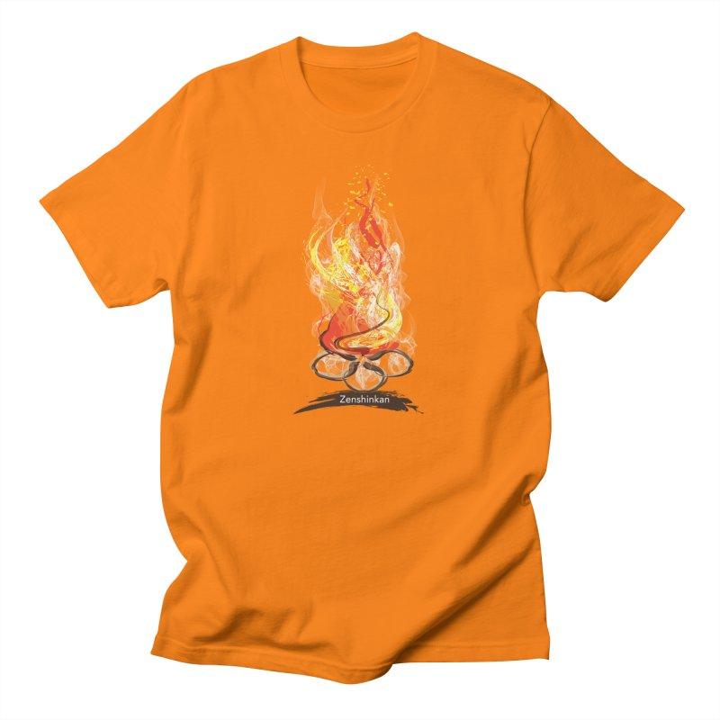 Fire Element Women's Regular Unisex T-Shirt by Zenshinkan's Shop