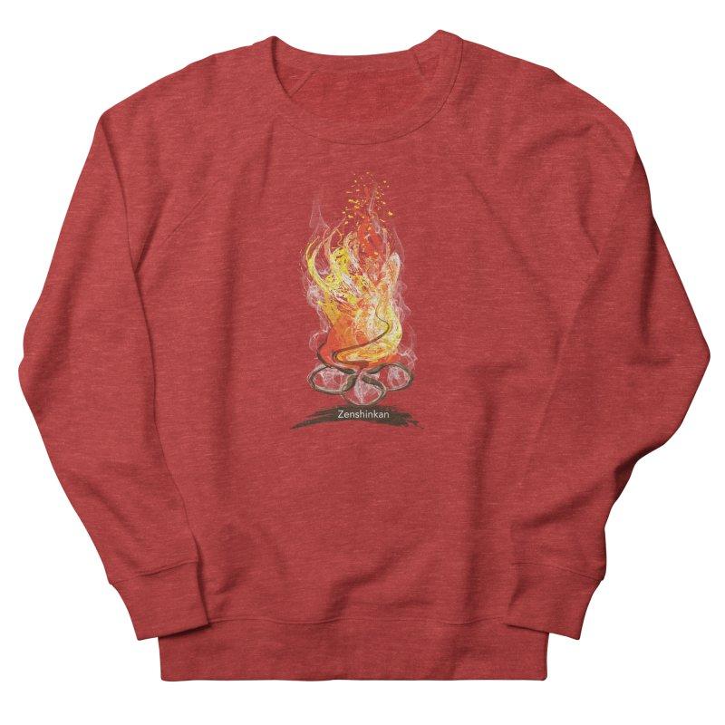 Fire Element Men's Sweatshirt by Zenshinkan's Shop