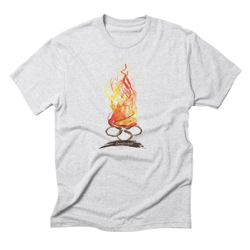 Fire Element Men's Triblend T-Shirt by Zenshinkan's Shop