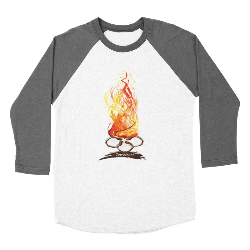 Fire Element Women's Baseball Triblend Longsleeve T-Shirt by Zenshinkan's Shop