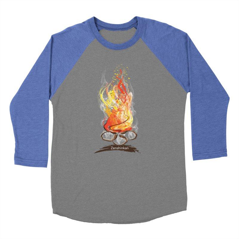 Fire Element Men's Baseball Triblend Longsleeve T-Shirt by Zenshinkan's Shop