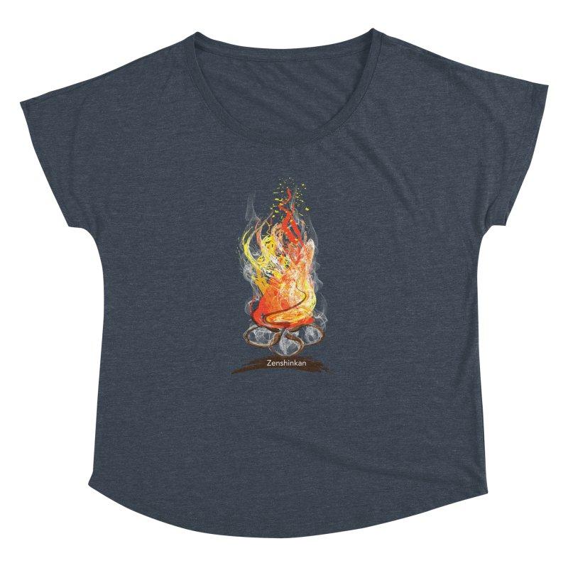 Fire Element Women's Dolman by Zenshinkan's Shop