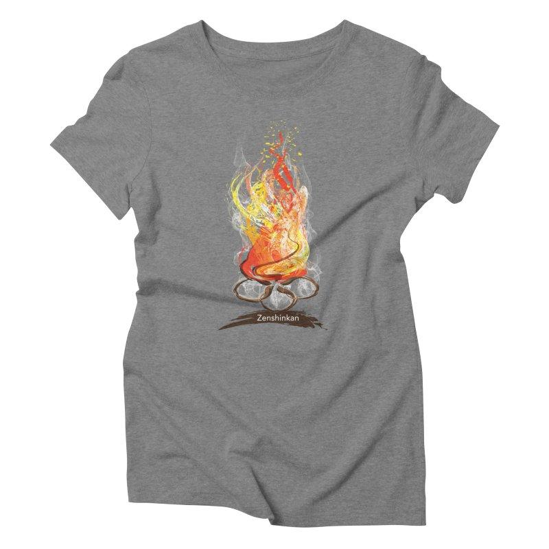 Fire Element Women's Triblend T-Shirt by Zenshinkan's Shop