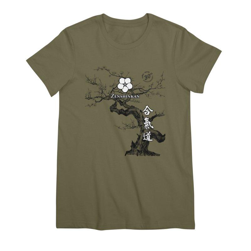 Zenshinkan's 30th Anniversary Print Women's Premium T-Shirt by Zenshinkan's Shop