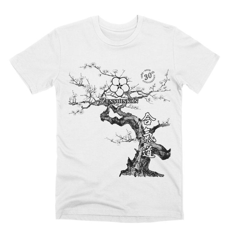 Zenshinkan's 30th Anniversary Print Men's Premium T-Shirt by Zenshinkan's Shop