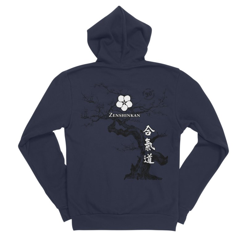 Zenshinkan's 30th Anniversary Print Women's Sponge Fleece Zip-Up Hoody by Zenshinkan's Shop