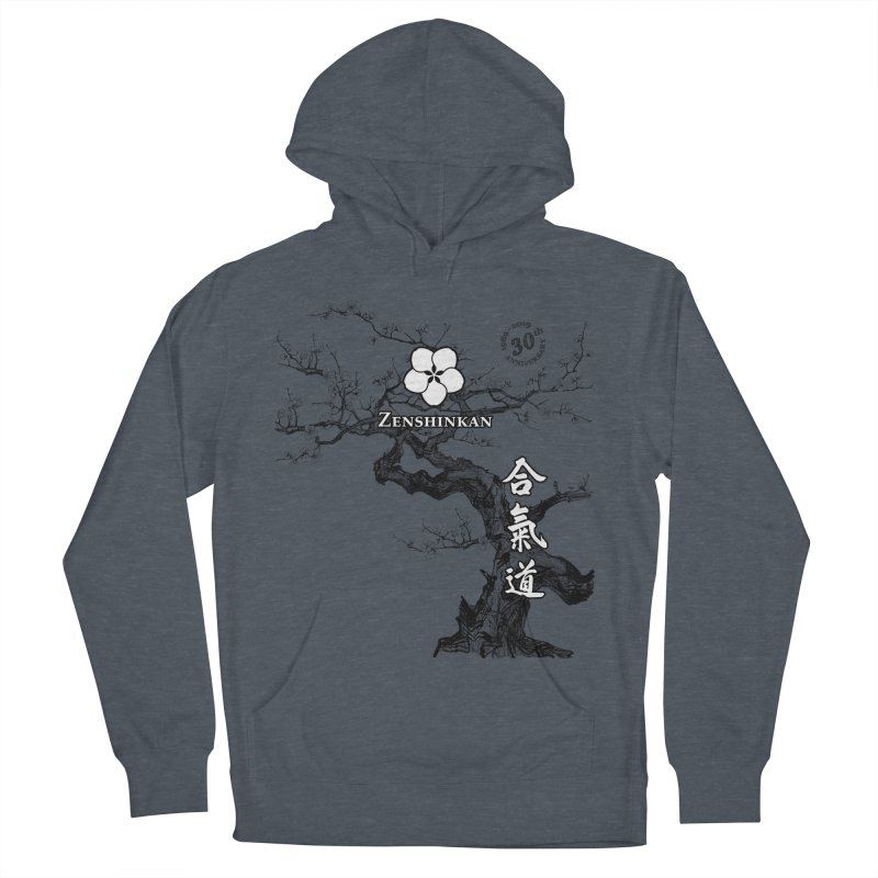 Zenshinkan's 30th Anniversary Print Men's French Terry Pullover Hoody by Zenshinkan's Shop