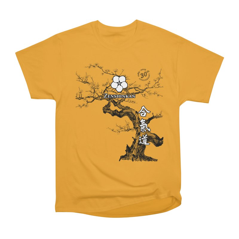 Zenshinkan's 30th Anniversary Print Men's Heavyweight T-Shirt by Zenshinkan's Shop
