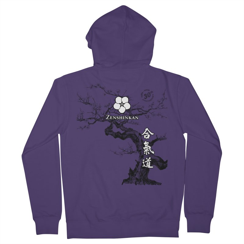 Zenshinkan's 30th Anniversary Print Women's French Terry Zip-Up Hoody by Zenshinkan's Shop