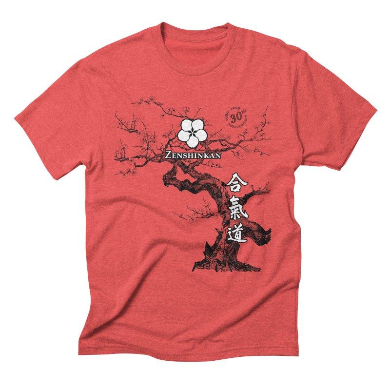 Zenshinkan's 30th Anniversary Print Men's Triblend T-Shirt by Zenshinkan's Shop