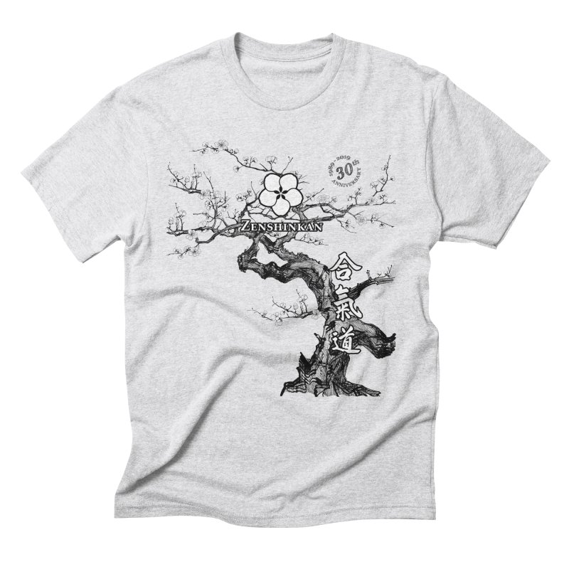 Zenshinkan's 30th Anniversary Print Men's Triblend T-Shirt by Zenshinkan's Shop