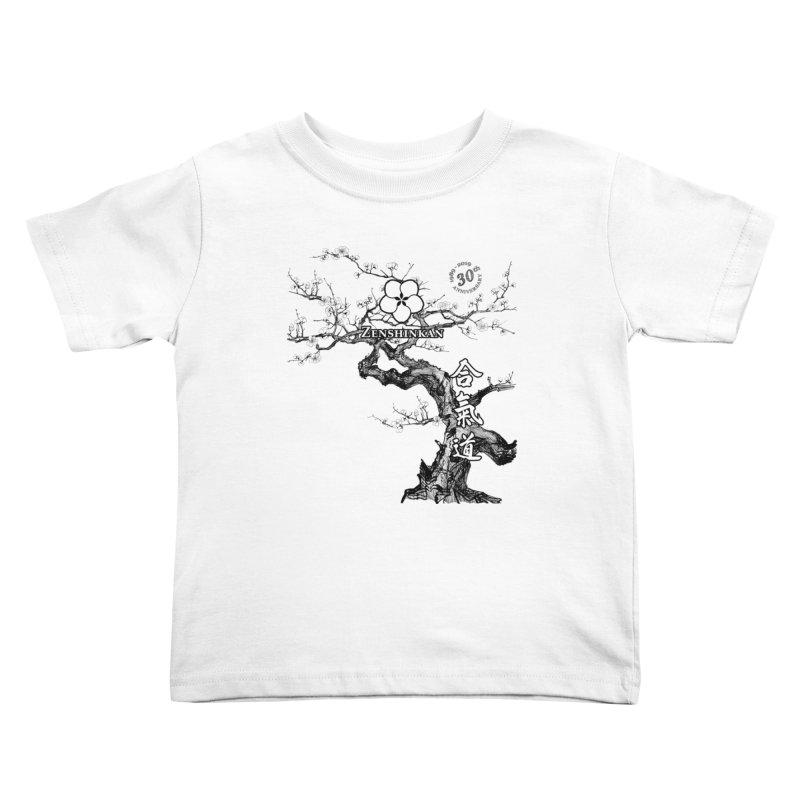 Zenshinkan's 30th Anniversary Print Kids Toddler T-Shirt by Zenshinkan's Shop