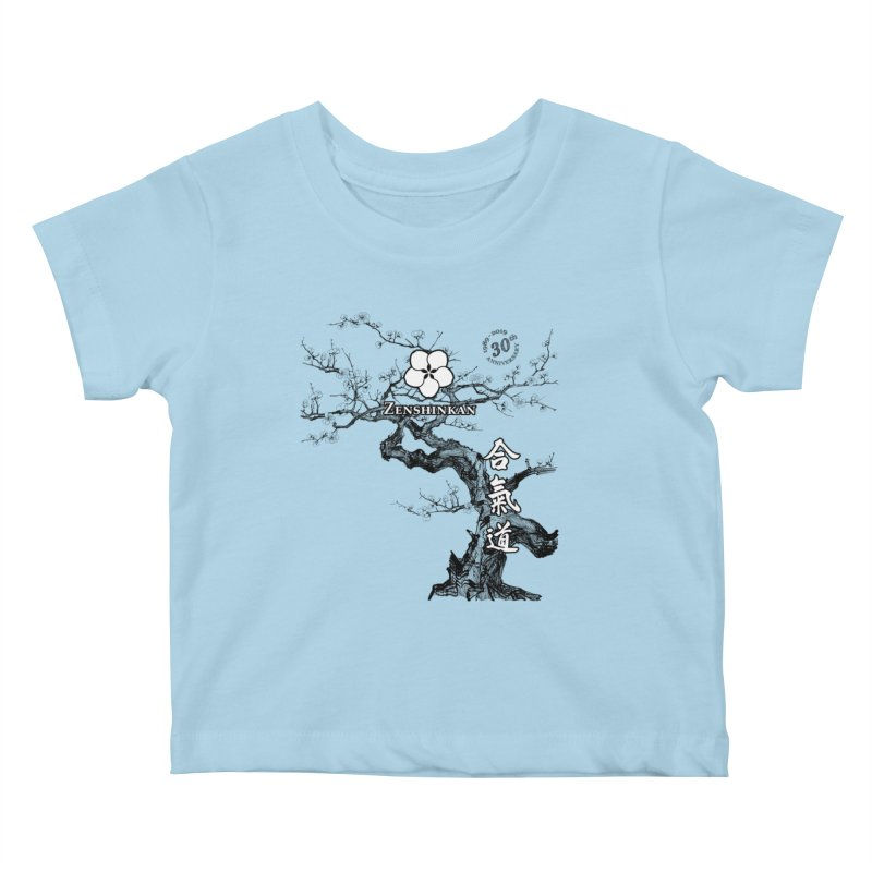 Zenshinkan's 30th Anniversary Print Kids Baby T-Shirt by Zenshinkan's Shop