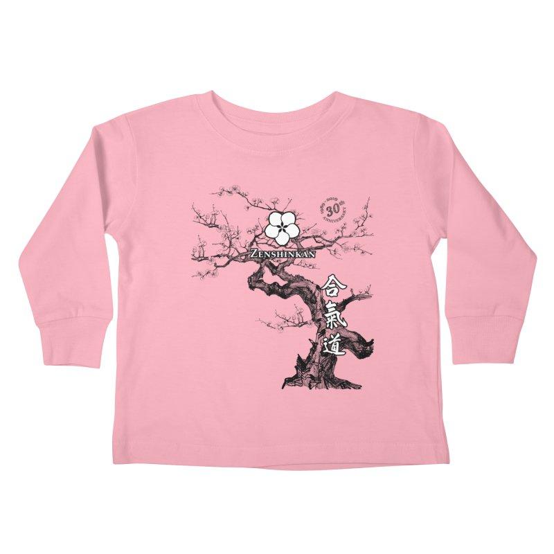 Zenshinkan's 30th Anniversary Print Kids Toddler Longsleeve T-Shirt by Zenshinkan's Shop
