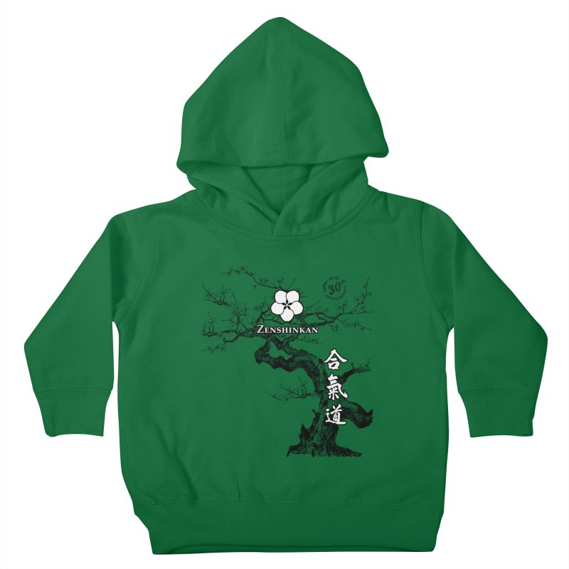 Zenshinkan's 30th Anniversary Print Kids Toddler Pullover Hoody by Zenshinkan's Shop