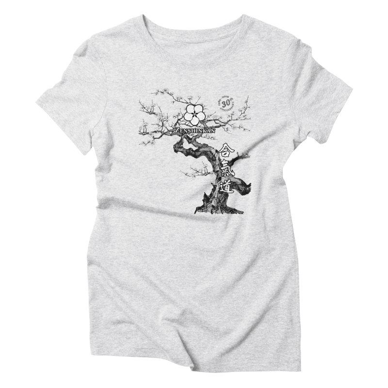 Zenshinkan's 30th Anniversary Print Women's Triblend T-Shirt by Zenshinkan's Shop
