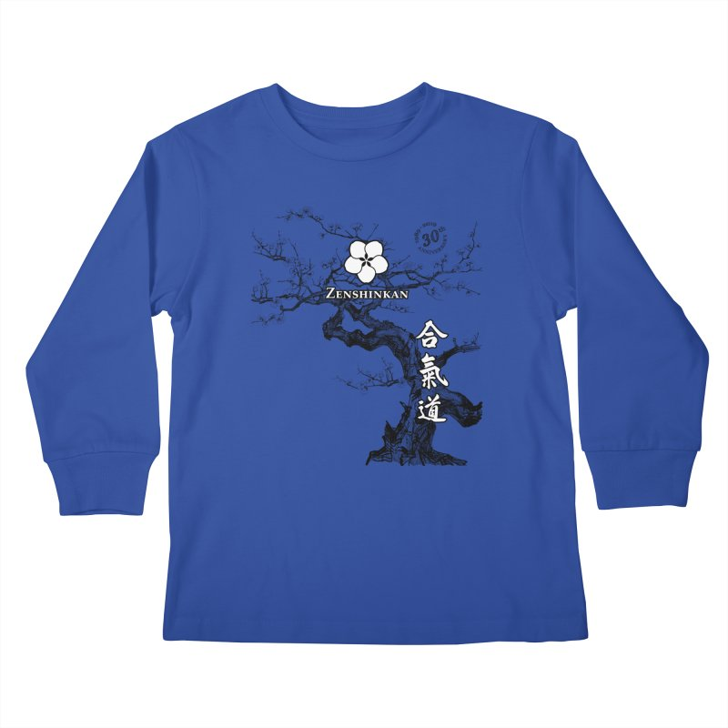 Zenshinkan's 30th Anniversary Print Kids Longsleeve T-Shirt by Zenshinkan's Shop