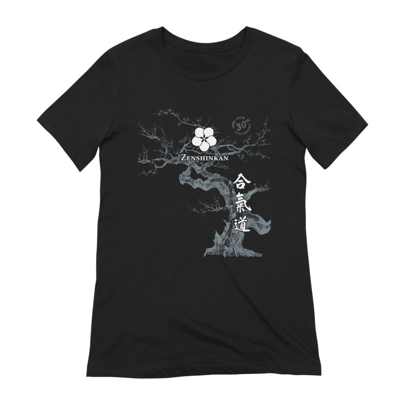 Zenshinkan's 30th Anniversary Print (dark) Women's Extra Soft T-Shirt by Zenshinkan's Shop