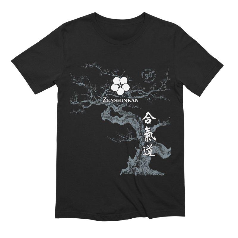 Zenshinkan's 30th Anniversary Print (dark) Men's Extra Soft T-Shirt by Zenshinkan's Shop