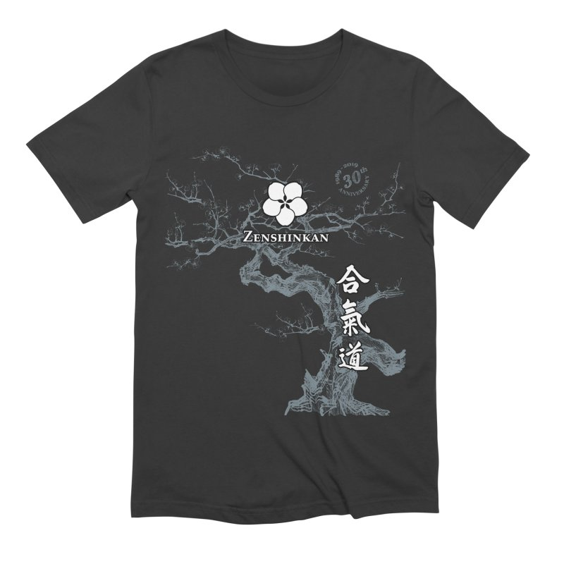 Zenshinkan's 30th Anniversary Print (dark) Men's Extra Soft T-Shirt by Zenshinkan's Shop