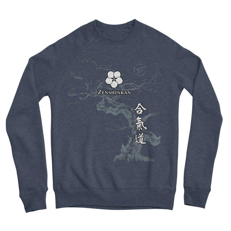 Zenshinkan's 30th Anniversary Print (dark) Women's Sponge Fleece Sweatshirt by Zenshinkan's Shop