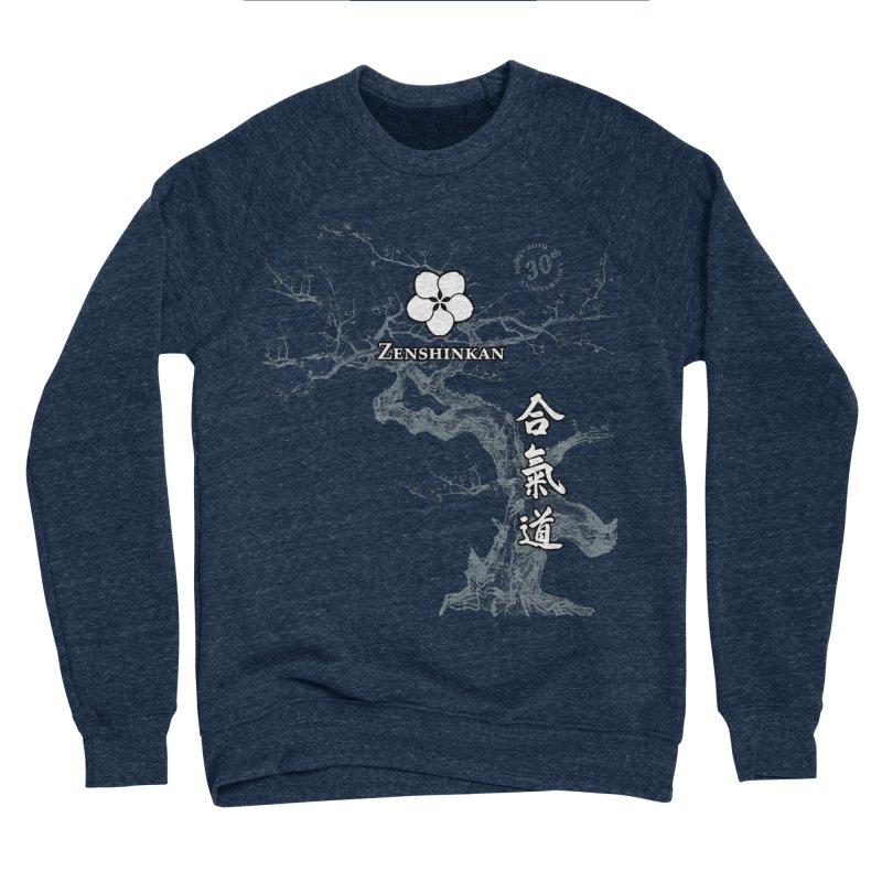 Zenshinkan's 30th Anniversary Print (dark) Men's Sponge Fleece Sweatshirt by Zenshinkan's Shop