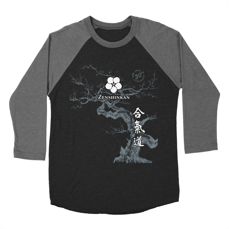 Zenshinkan's 30th Anniversary Print (dark) Women's Longsleeve T-Shirt by Zenshinkan's Shop