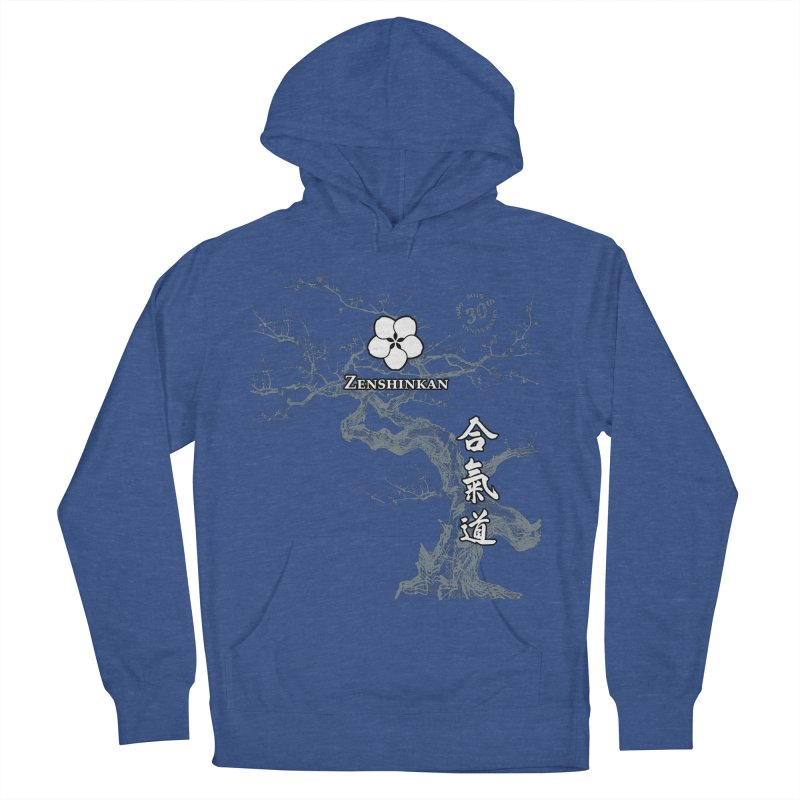 Zenshinkan's 30th Anniversary Print (dark) Men's French Terry Pullover Hoody by Zenshinkan's Shop