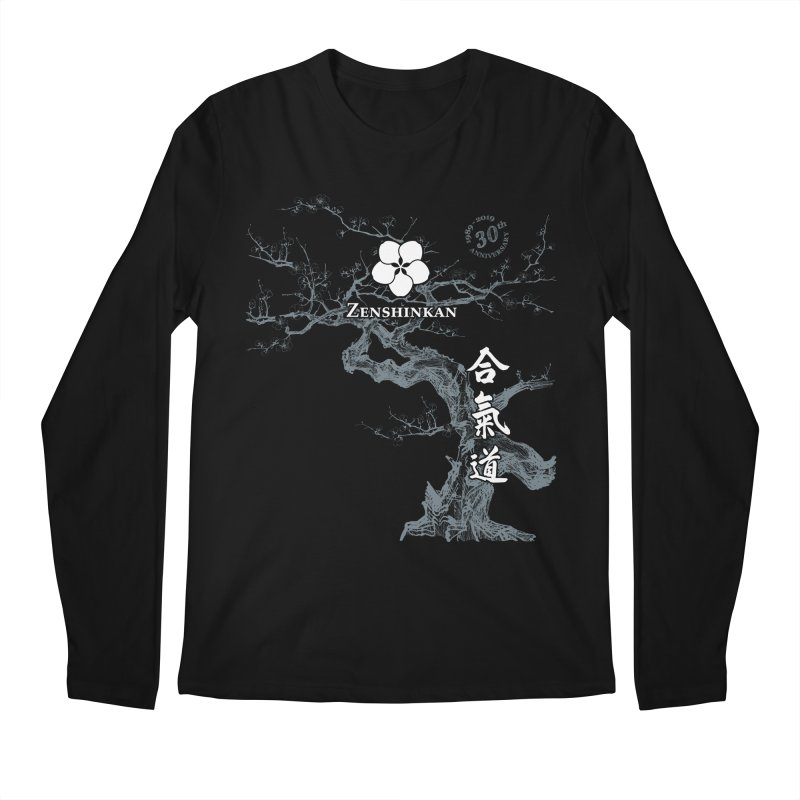 Zenshinkan's 30th Anniversary Print (dark) Men's Regular Longsleeve T-Shirt by Zenshinkan's Shop