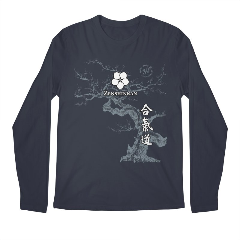Zenshinkan's 30th Anniversary Print (dark) Men's Regular Longsleeve T-Shirt by Zenshinkan's Shop