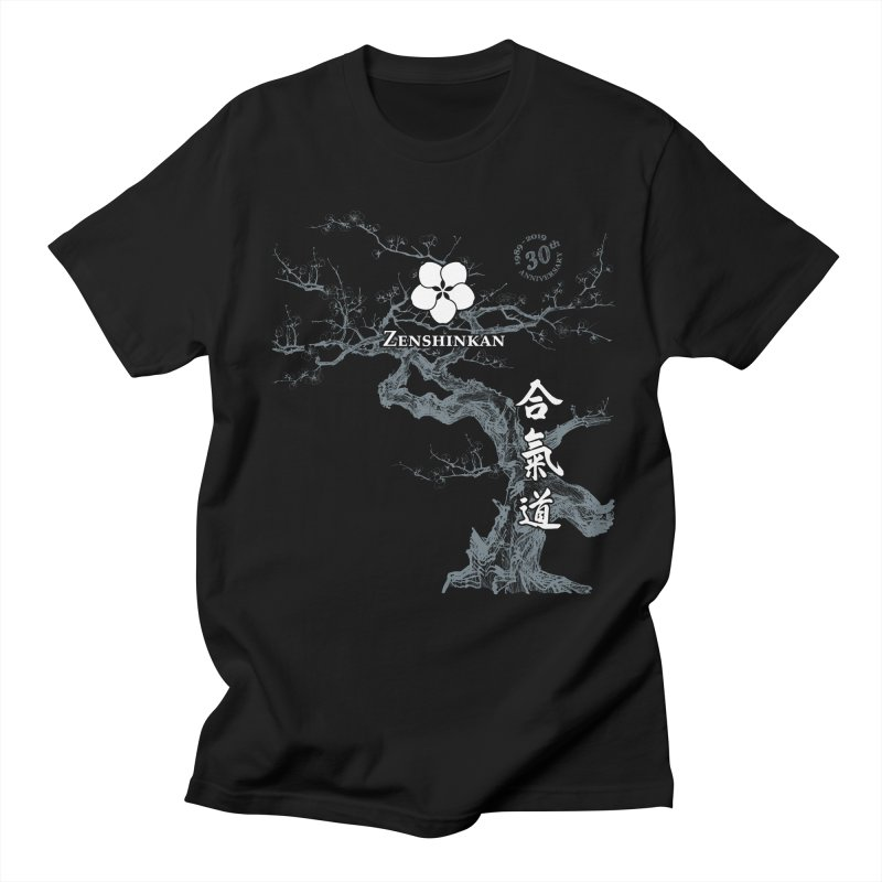 Zenshinkan's 30th Anniversary Print (dark) Men's Regular T-Shirt by Zenshinkan's Shop