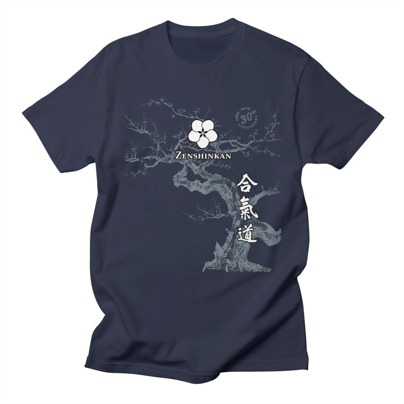 Zenshinkan's 30th Anniversary Print (dark) Women's Regular Unisex T-Shirt by Zenshinkan's Shop