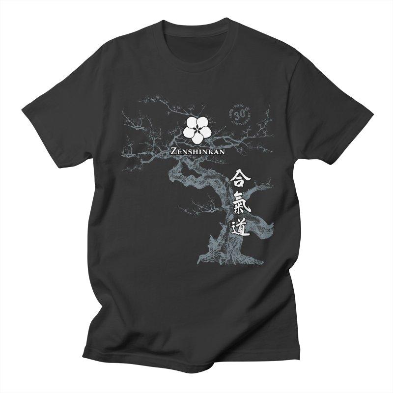 Zenshinkan's 30th Anniversary Print (dark) Women's Regular Unisex T-Shirt by Zenshinkan's Shop