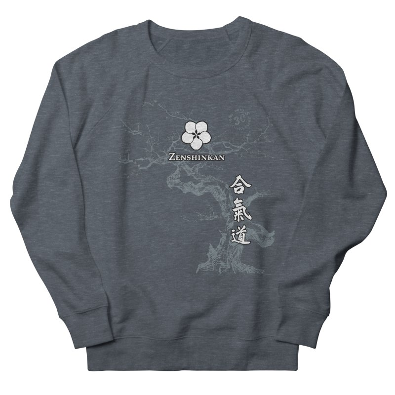 Zenshinkan's 30th Anniversary Print (dark) Men's French Terry Sweatshirt by Zenshinkan's Shop