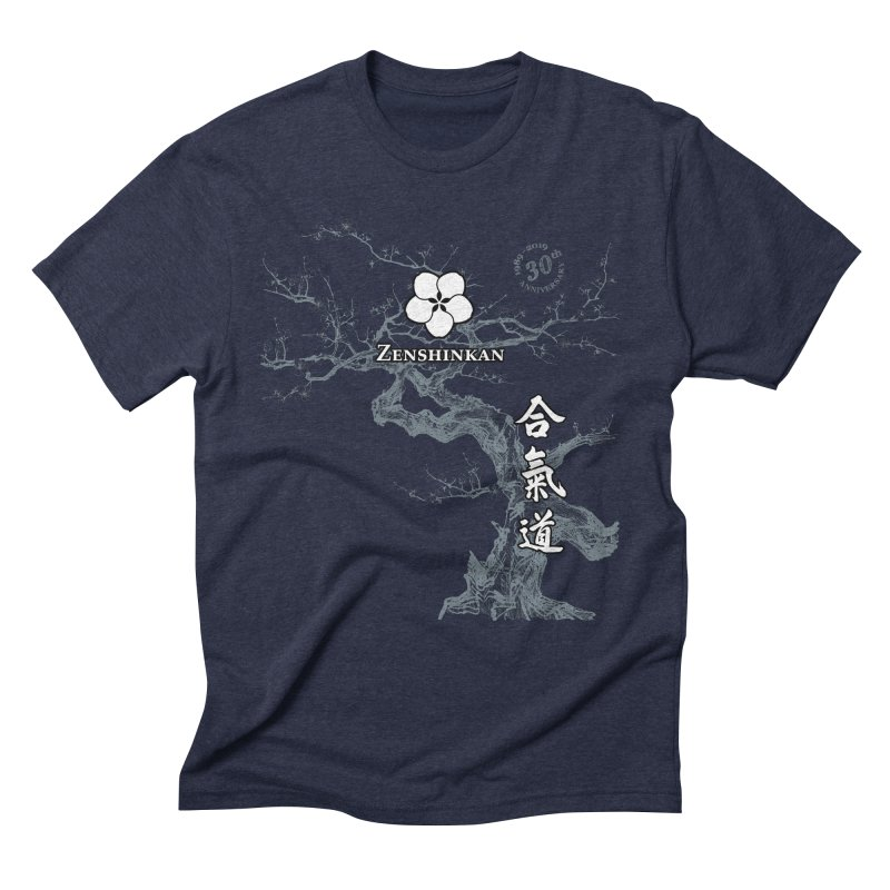 Zenshinkan's 30th Anniversary Print (dark) Men's Triblend T-Shirt by Zenshinkan's Shop