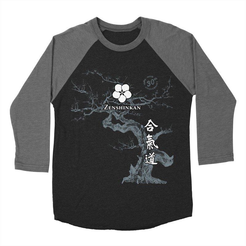 Zenshinkan's 30th Anniversary Print (dark) Women's Baseball Triblend Longsleeve T-Shirt by Zenshinkan's Shop