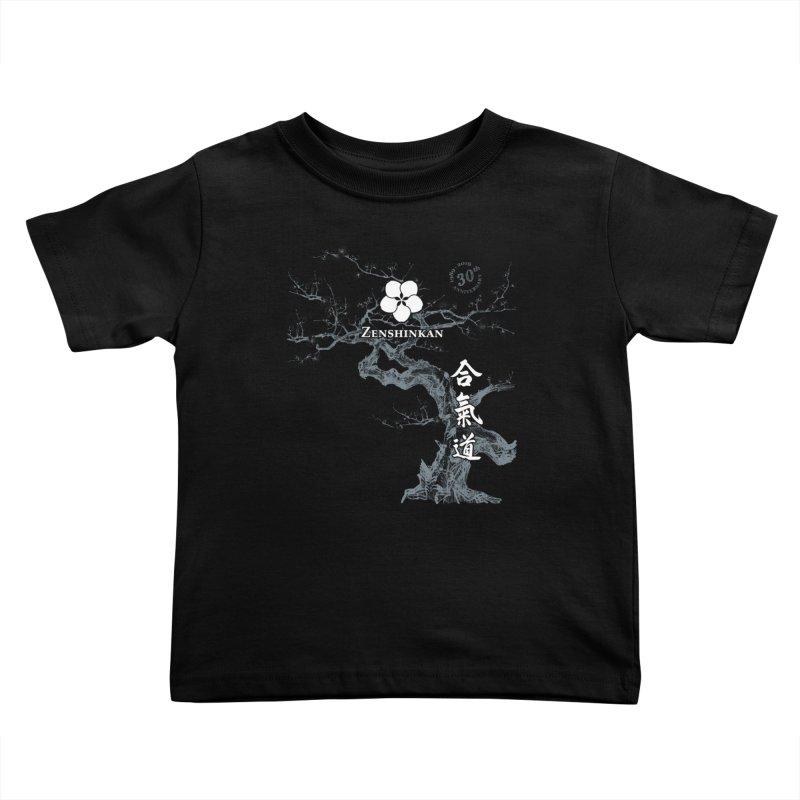 Zenshinkan's 30th Anniversary Print (dark) Kids Toddler T-Shirt by Zenshinkan's Shop