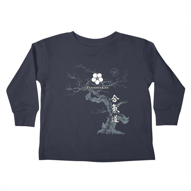 Zenshinkan's 30th Anniversary Print (dark) Kids Toddler Longsleeve T-Shirt by Zenshinkan's Shop