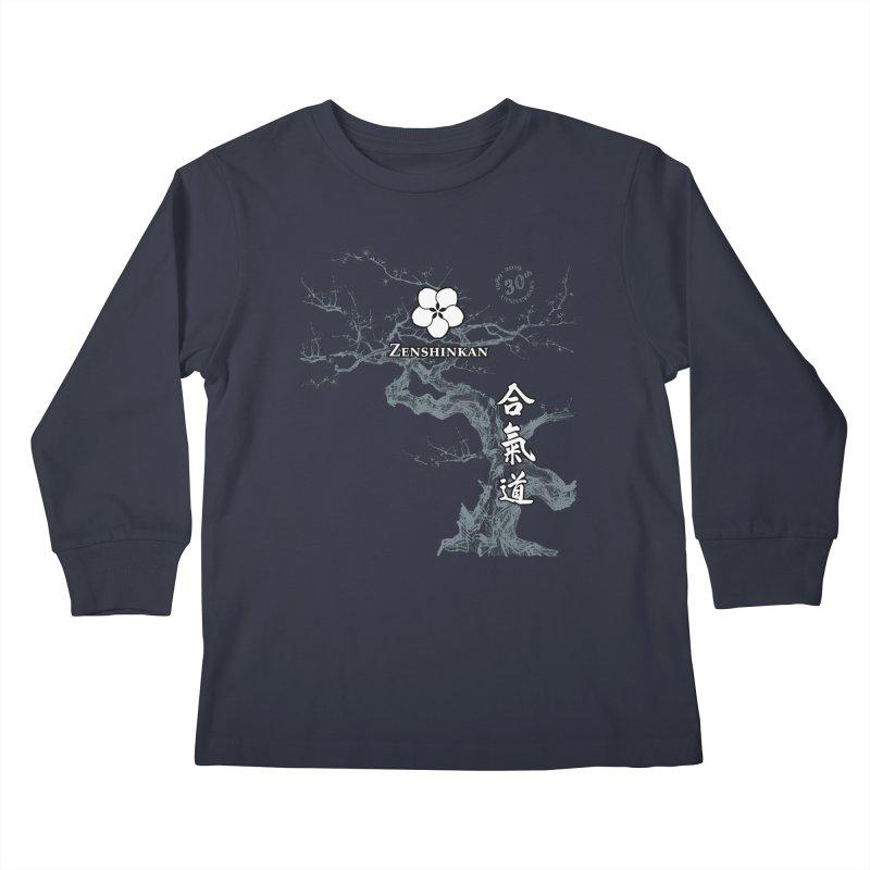 Zenshinkan's 30th Anniversary Print (dark) Kids Longsleeve T-Shirt by Zenshinkan's Shop