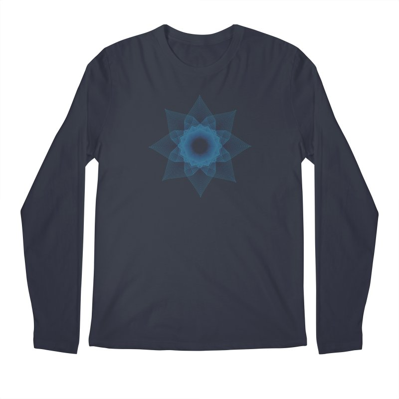 Zen Lotus I Men's Longsleeve T-Shirt by Zen the Machine