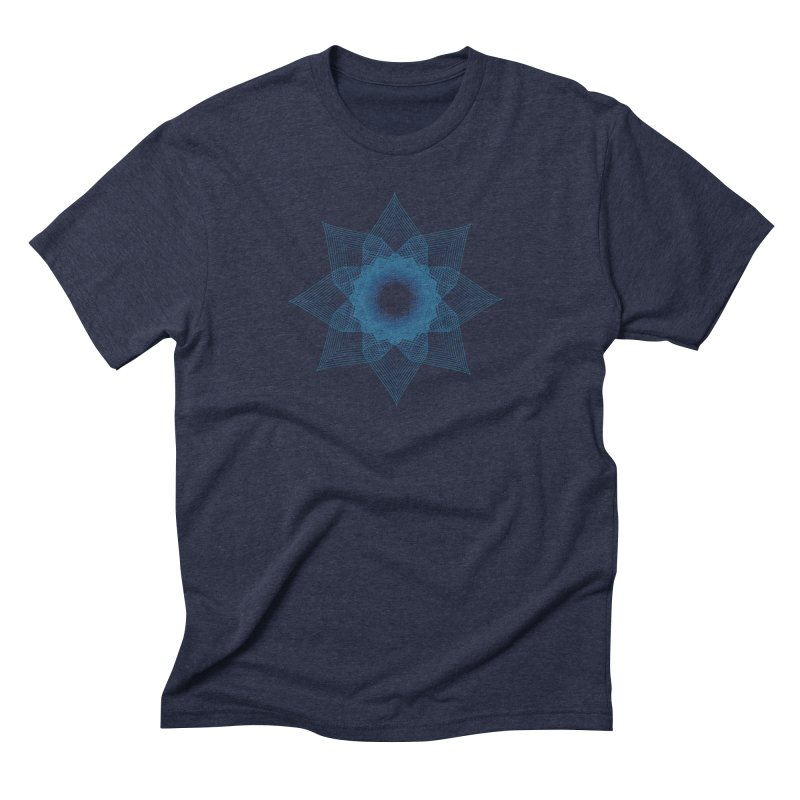 Zen Lotus I Men's T-Shirt by Zen the Machine