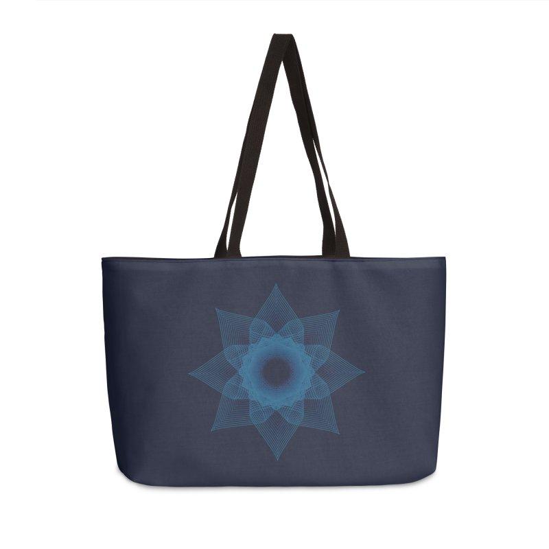 Zen Lotus I Accessories Weekender Bag Bag by Zen the Machine