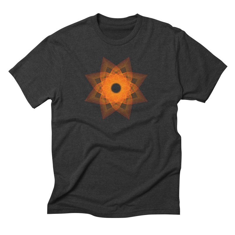 Zen Lotus II Men's T-Shirt by Zen the Machine