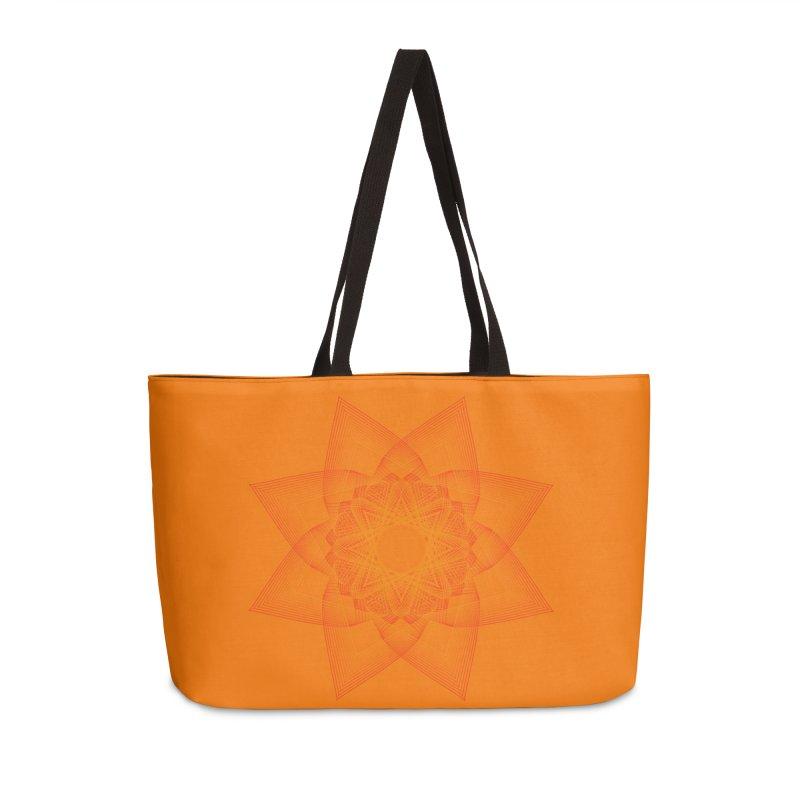 Zen Lotus II in Weekender Bag by Zen the Machine
