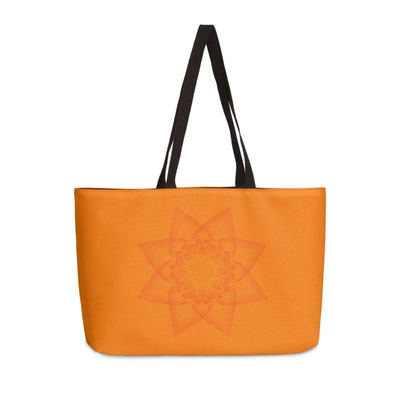 Zen Lotus II Accessories Weekender Bag Bag by Zen the Machine