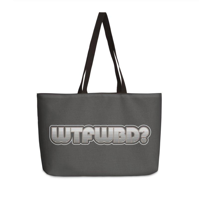 WTFWBD? Accessories Weekender Bag Bag by Zen the Machine